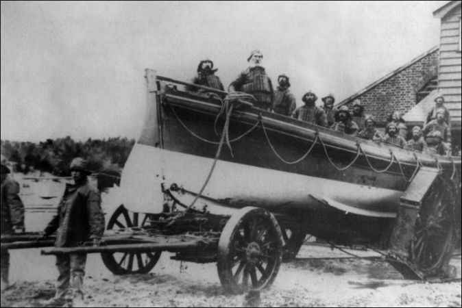 Old Formby Lifeboat