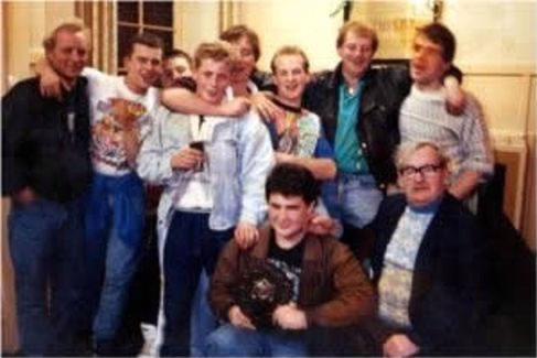 central bar Mallaig pool team 80's