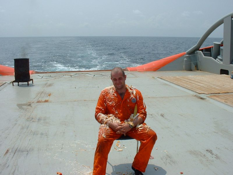 Me Crossing the Equator, a few years back