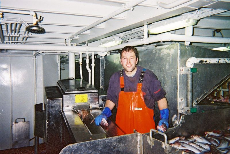 Aboard the crystal river, BF 32 in 2001