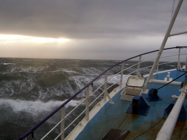 Gale in North Minch