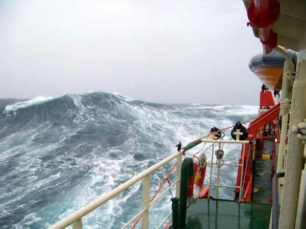 Poor Day in the North Sea