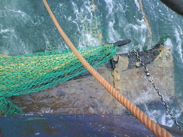 old rudder stock