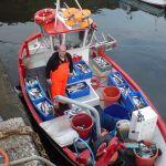 Mackerel caught on the Bajin