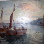 Skiffs discharging Tarbert