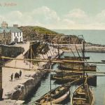 Old Picture of Dunure Harbour