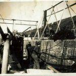 hauling net aboard