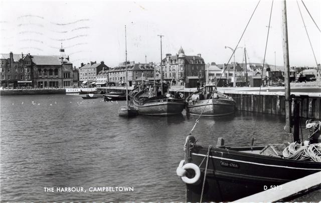 campbeltown harbour late 50s
