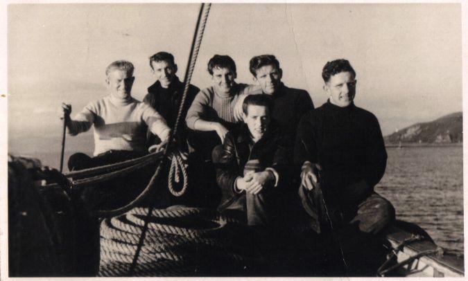 Crew of the Stella Maris CN158