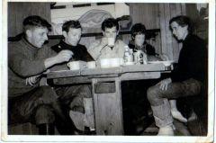 Teatime aboard the Stella Maris