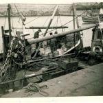 Dunbar prawners 1954
