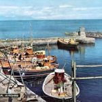boats in dunure
