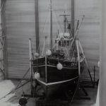 Albion CN 45 first boat inside Campbeltown shipyard April 1969