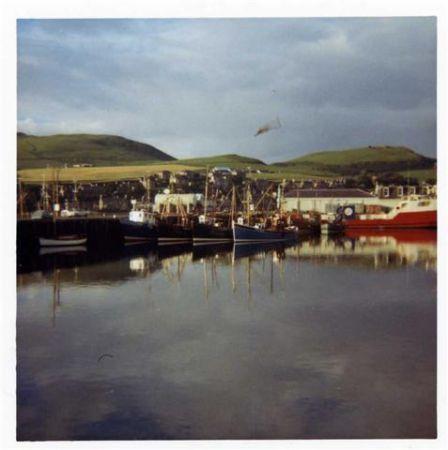 campbeltown harbour-1970s