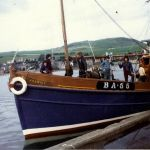 Jasmine arriving in campbeltown from girvan March 1973