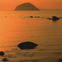 AILSA CRAIG IN THE EVENING LIGHT