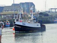 trawler at amble
