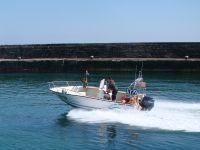 speeding in anster harbour tut tut