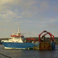 The Atlantic Protector, leaving Shelburne.
