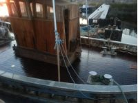 Jasper deck Re oiled stern shot