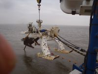 Cable plough for burying cables 3mtrs under the seabed