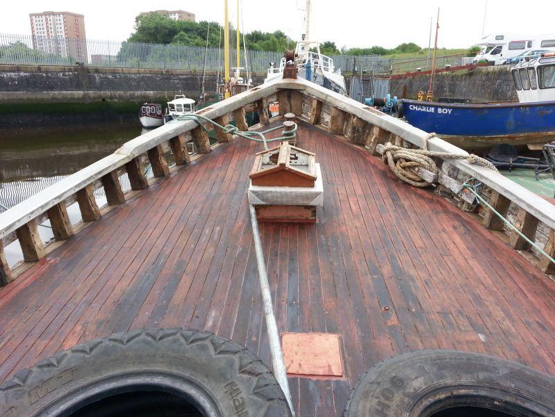 Jasper deck and bow