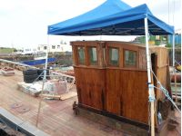Jasper wheelhouse and deck