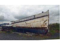 Unknown boat at Fosdyke
