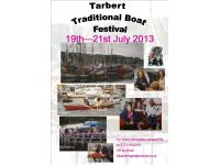 Tarbert Traditional Boats Festival REMINDER