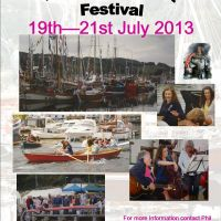 Interested in taking part, contact Phil. All types of traditional boats will be made very welcome.