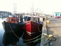 Two old boats still on the go in Tarbert