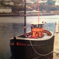 Harmony waiting for an uncertain future at Tarbert.