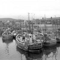 Girvan harbour 1968