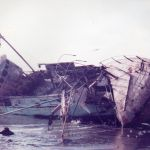 WELLSPRING ON THE ROCKS AT LENDALFOOT AFTER THE FIRE IN THE ENGINE ROOM  1982