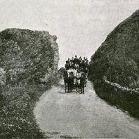 Coming through chapmans craig Lendalfoot Girvan 1910