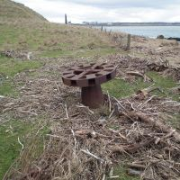 Capstan at entrance to Montrose Harbour