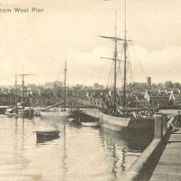 Stranraer West Pier early 1900s