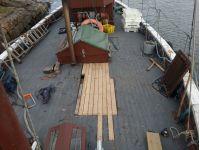 Christina II deck