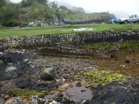 unknown at Salen pier Isle of Lismore