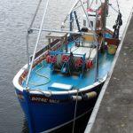 boyne vale moored Up greenock
